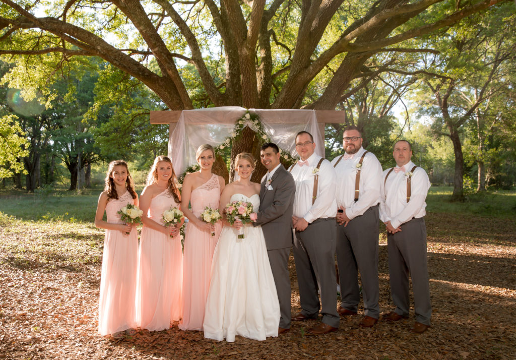 the full bridal party