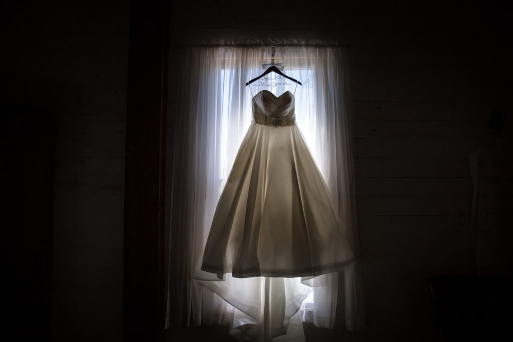 Jen & Chuck Photography | Dress Illuminated by Window