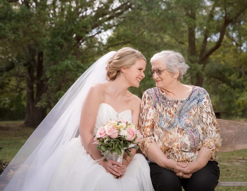 Kristen and her grandmother